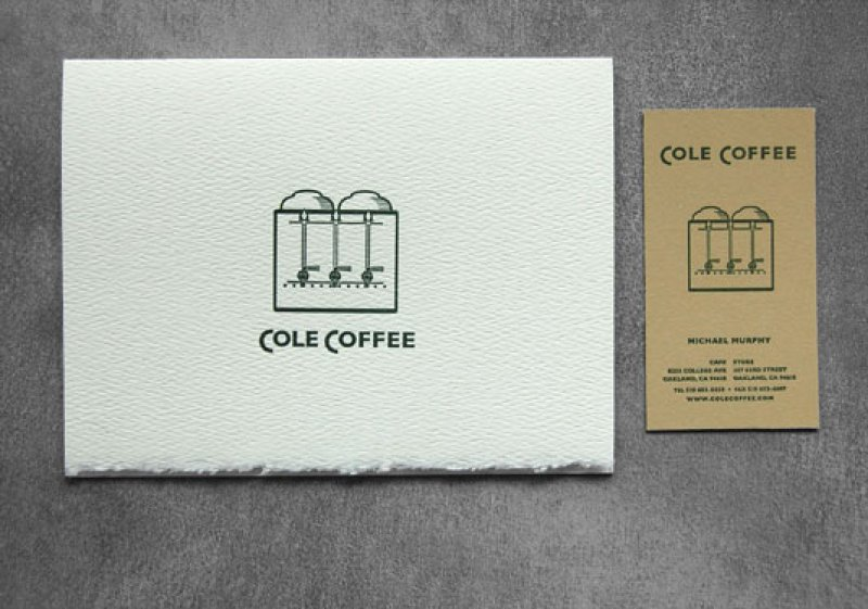 Cole Coffee Business And Note Cards